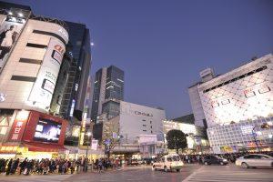 渋谷の人混み