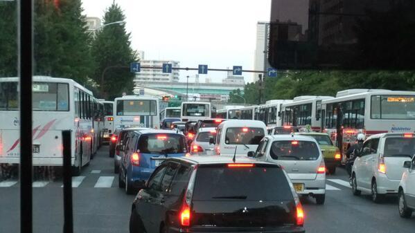 西鉄バス渋滞