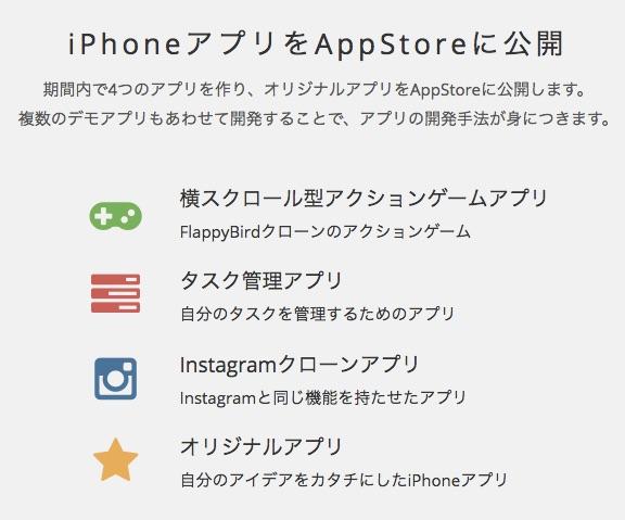 iPhoneアプリ開発講座(オンラインスクール)___TechAcademy__テックアカデミー_