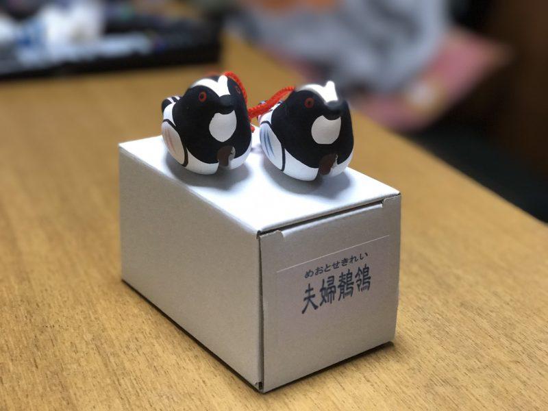 多賀神社の夫婦鶺鴒(めおとせきれい)