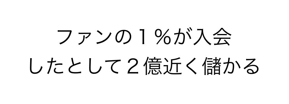 たった1%でも