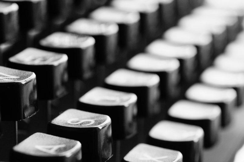 キーボード タイプライター
